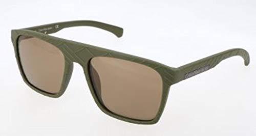 Calvin klein jeans sonnenbrille ckj798s 308-55-18-140 occhiali da sole, verde (grün), 55.0 uomo