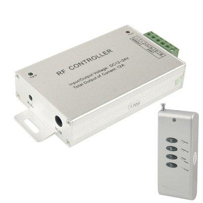 Light Controller, 12A RF Audio Controller pour RGB LED Strip Remote Controller (Couleur : S-led-7512)