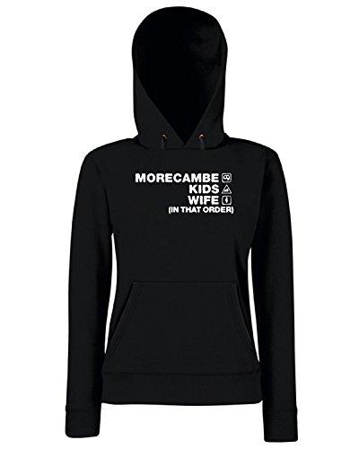 T-Shirtshock - Sweats a capuche Femme WC1174 morecambe-kids-wife-order-tshirt design Noir