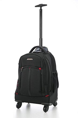 """Aerolite 21""""- Zaino/Trolley ideale come Bagaglio a Mano o Borsa per PC portatile - Cabina 4 ruote - Perfetta per professionisti e lavoratori - Accettato da Alitalia, Easyjet, WizzAir e altre"""