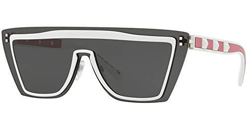 Valentino Sonnenbrillen VA 2026 White PINK/Grey Damenbrillen