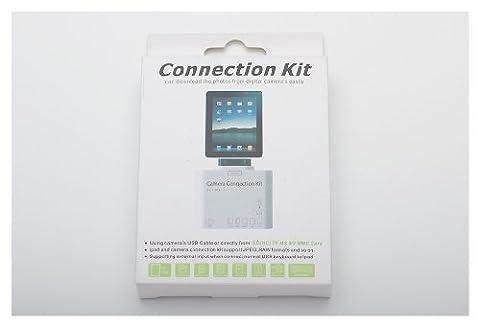 Kartenleser für Apple iPad 1 2 3 5in1 Camera Connection Kit MMC USB SDHC TF SDN 10.1N Kabellos