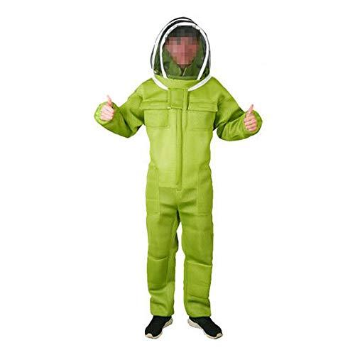 MEICHEN 1 Satz Imkerei Anzug Für Imker Professionelle Ausrüstung Klimaanlage Kleidung Schutz Bienenstock Atmungs Anti Biene,L -
