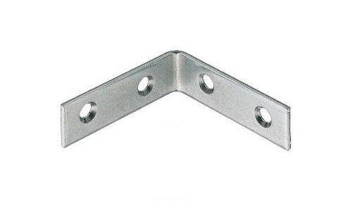 40x 40x 16mm 90Grad rechts Winkel Metall L-förmige Halterung Corner Brace Fixierung Regal Unterstützung Repair X4 -