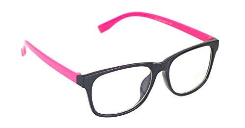 Nerdbrille Lesebrille Pantrobrille Pink Ohne Stärke