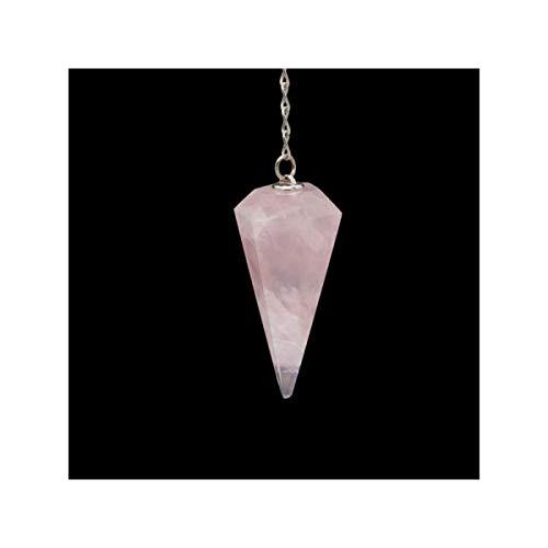 Pendolo di quarzo rosa