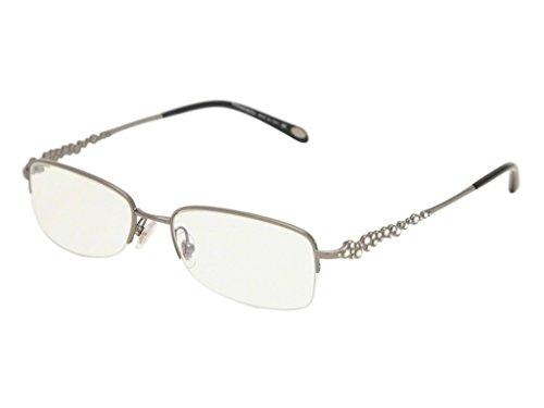 Tiffany & Co. Für Frau 1001b Gunmetal Metallgestell Brillen, 51mm