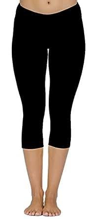 Pantalon Femme Sport Noir Leggings Fille Strech,France Taille S
