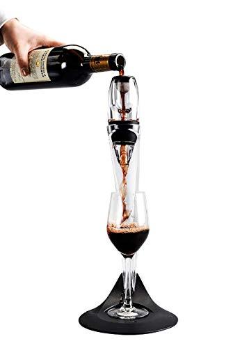 Verseur aérateur de vin, Aérateur Rapide, Décanteur Rapide, Service à vin, Outils de Bar, Accessoires de Cuisine - envoyez Un Couteau et Un Bouchon à vin