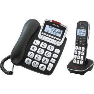 Emporia GD61ABB Riesige Tasten und einfachste Bedienung Schwarz Twin-dect-telefon