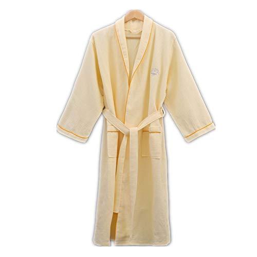Mujeres Kimono Batas Algodón Ligero Bata Corta Tejido
