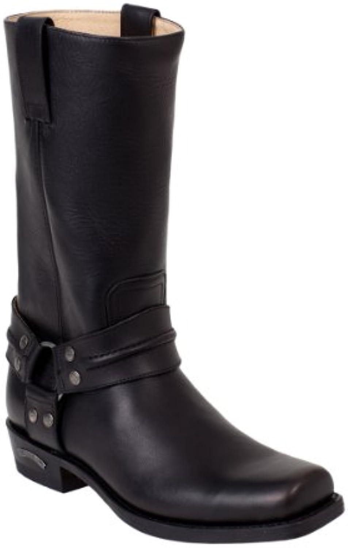 Sendra Boots 2380MO schwarz * incl. original MOSQUITO reg Stiefelknecht *