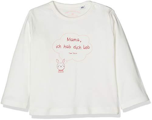-Mädchen 1/1 T-Shirt, Weiß (Cloud Dancer|White 1610), 80 ()