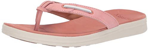 Sperry Women's Adriatic Thong Skip Lace Leather Sandal Lace Thong Sandal