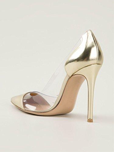 EDEFS - Scarpe col tacco Donna - 12cm - Tacchi Alti - Trasparente Scarpe col Tacco - Tacco a spillo Trasparente