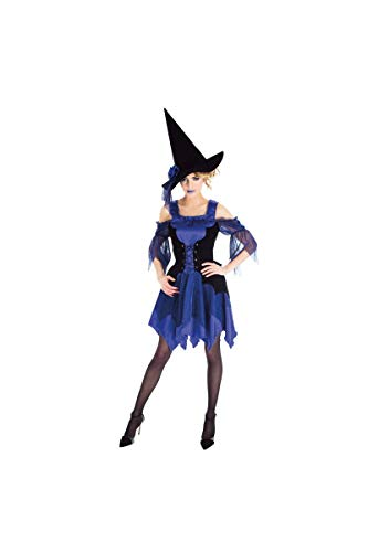 Chaks h4163m, Kostüm Hexe blau Erwachsene, Größe M