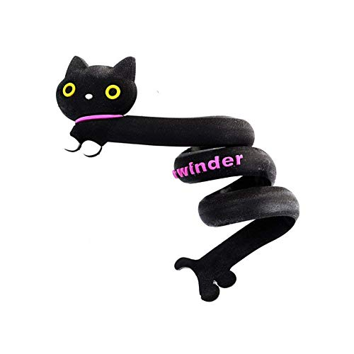 ZT TRADE Kabel Clips Kabelbefestigung Laser-geldbörse Süße Mini-geldbörse Cartoon Animals Bobbin Winder Vertikale Lippenstift-aufbewahrungsbox Organizer cat -
