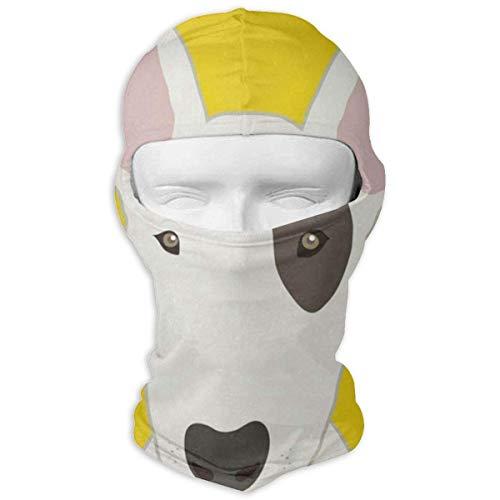 Xdevrbk Balaclava Eiffelturm. Gold feuert die Beleuchtung. Vollmasken UV-Schutz Ski Cap Mens Headwear für Motorrad New17 -