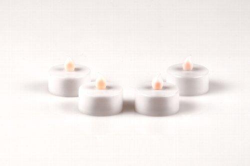 LED Luz de té (Juego de 4) Vela Té luz Vela