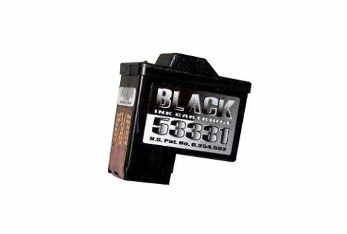 Primera Schwarze Tintenpatrone für Disc Publisher I, II, XR + OptiVault Druck + Kopiersysteme, hohe Kapazität -
