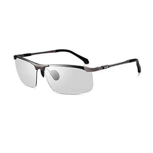 Jinxiaobei Herren Sonnenbrillen Polarisierte Sonnenbrille polarisierte uv400 Sport Sonnenbrille polarisierte Sport Sonnenbrille for männer Frauen superleichte Rahmen Design (Color : Gray)