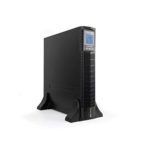 Green Cell UPS USV Unterbrechungsfreie Stromversorgung 1000VA (900W) 230V 1000VA-1999VA Pure Sine Wave Online 6X IEC320 C13-10A