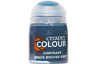 Games Workshop Citadel Pot de Peinture - Contrast Space Wolves Grey (18ml)