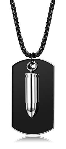 BE STEEL 3 MM Edelstahl Dog Tags Kugel Anhänger Kette für Männer Frauen Unisex Kette Mit Gravur Army Armee Kette Soldaten Herren Kette 68CM