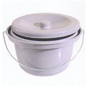 Toiletteneimer Hygieneeimer für Dusch- Toilettenstuhl von Aquatec Invacare