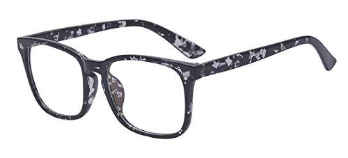 Outray Blaues Licht blockieren Runde Brille Anti-Müdigkeit-Computer-Brille verhindern Kopfschmerzen Gamer Brille Schwarz Rosa