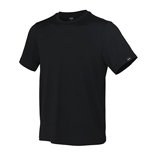 92d1e08895a463 MUVEEN Herren Performance Nature Tencel T-Shirt, Stylish, Soft &  Lightweight, Komfort