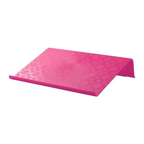 IKEA-Alzador-para-porttil-42-x-31-cm-color-negro-rosa-o-verde