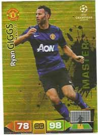 Champions League Adrenalyn XL 2011/2012 Ryan Giggs Master Manchester United 1... -