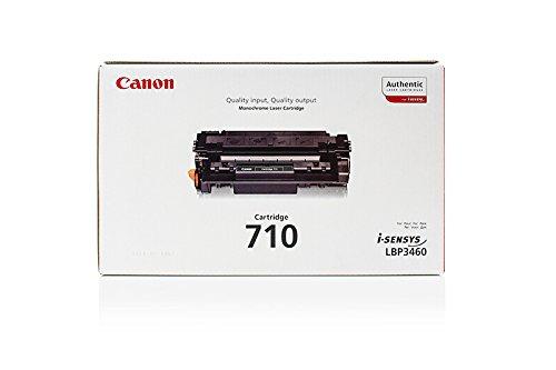 HP LaserJet 2400 Series - Original Canon 0985B001 / 710 Black Toner - -