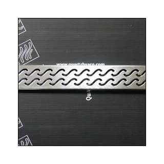 ACO Polymer Products 37402 47.25 in. Hawaii Shower Channel, Stainless Steel Grate by ACO Polymer Products