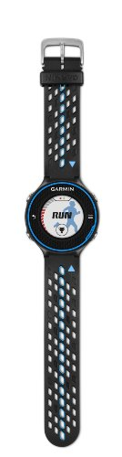 Garmin Forerunner 620 GPS Running Watch with Colour Touchscreen Display and Heart Rate Monitor - Black/Blue