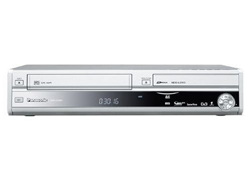 Panasonic DMR EX 98 VEG DVD-, VHS- und Festplattenrekorder (250 GB, USB, HDMI, SDHC, DVB-T) silber