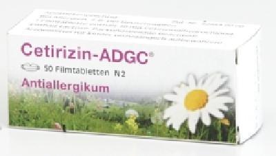 Cetirizin-ADGC 50 stk