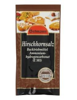 Image of Ostmann Hirschhornsalz 15 g