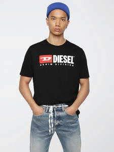 Diesel T-Just-Division Größe L schwarz (Männer Diesel Kleidung)