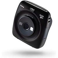 Fujifilm Instax Square SQ20 Fotocamera Ibrida Istantanea e Digitale con Scheda di Memoria per Formato Quadrato 62 x 62 mm, Nero
