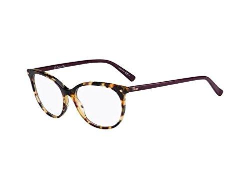 Preisvergleich Produktbild Dior Brillen Für Frau CD3284 LBV, Tortoise / Plum Kunststoffgestell