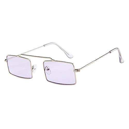Battnot☀ Sonnenbrille für Damen Herren, Unisex Vintage Kleine Form Rahmen Mode Anti-UV Gläser Sonnenbrillen Schutzbrillen Männer Frauen Retro Billig Sunglasses Fashion Women Eyewear Eyeglasses