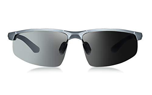 WHCREAT Gafas Sol Fotocromáticas Conducción Polarizadas