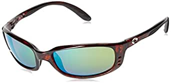 Costa Del Mar Brine BR 10 Tortoise Sunglasses for Mens - Size 400G (Blue Mirror Lens)