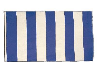 Flagge Streifen blau weiß - 60 x 90 cm