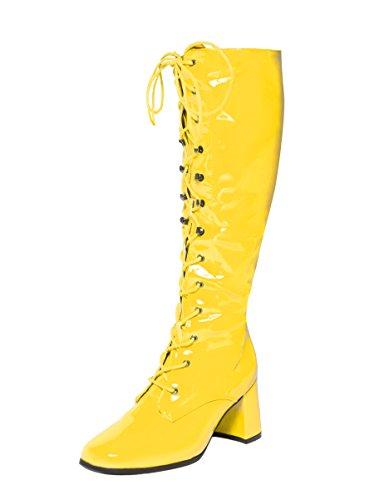 Ktc, Damen Stiefel & Stiefeletten gelb gelb, gelb - gelb - Größe: 43