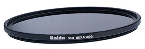 Haida Slim Graufilter ND1000x 62mm.Schlanke Fassung + Pro Lens Cap mit Innengriff