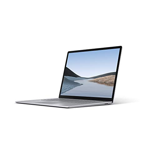 Microsoft Surface Laptop 3, 15 Zoll Laptop (AMD Ryzen 5 3580U, 8GB RAM, 128GB SSD, Win 10 Home) Platin