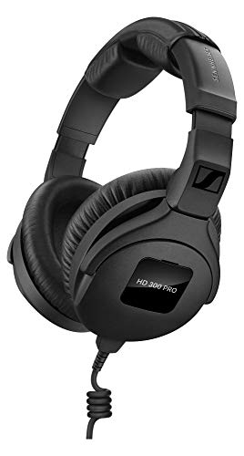 Sennheiser HD 300 PRO Kopfhörer (professionelle Studio-Kopfhörer im Over-Ear-Design & präziser, linearer Klangwiedergabe, ideal für DJs & Drummer) Schwarz Hd300 Video